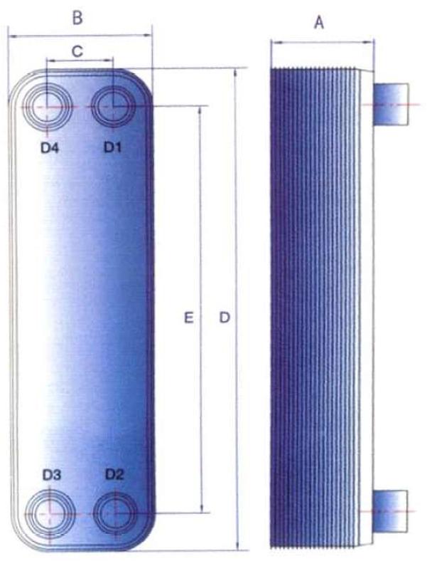 Brazed Plate Heat Exchanger – Les Chaudières Autonom